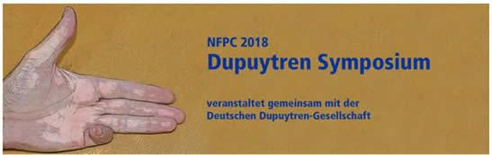 Dupuytren-Symposium in Nürnberg - NFPC 2018