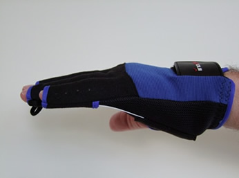 FixxGlove Plus viewed from the side.